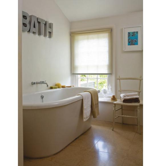 Waterafstotend rolgordijn voor de badkamer